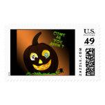 Halloween Invite Postage