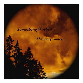 Halloween  Invite: Something Wicked