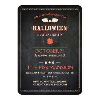 Halloween Invite: Spooktacular - Customizable Card