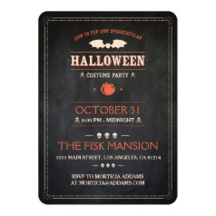 Halloween Invite: Spooktacular - Customizable Invitation