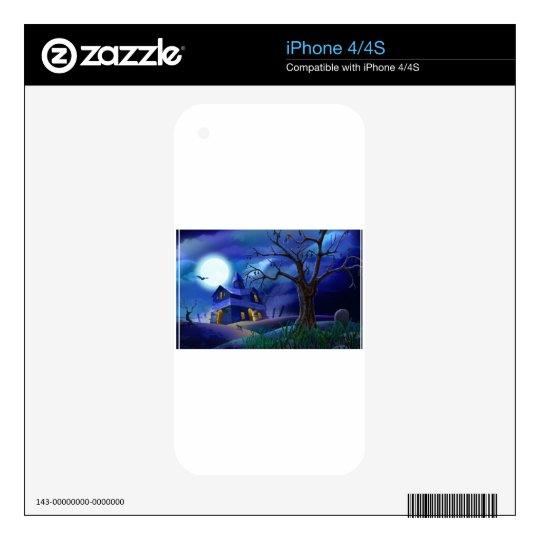 Halloween iPhone 4 Decals