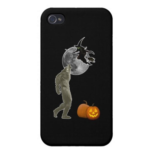 Halloween iPhone 4 Protectores