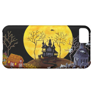 Halloween.,iphone,barely,there,case,haunted,house iPhone 5C Cover