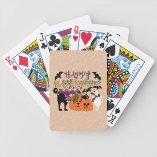 Halloween is here bicycle card deck