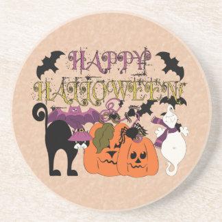 Halloween is here drink coaster