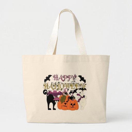 Halloween is here jumbo tote bag