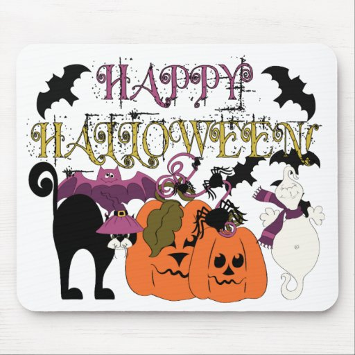 Halloween is here mouse pad