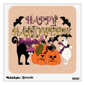 Halloween is here wall decal