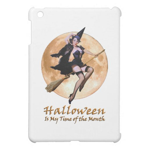 Halloween Is My Time Of The Month! iPad Mini Cases