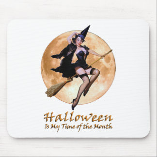 Halloween Is My Time Of The Month! Mouse Pad