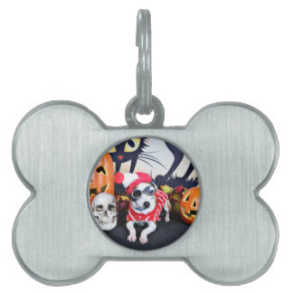 Halloween - Italian Greyhound - Waldo Pet ID Tags