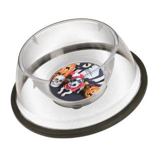 Halloween - Italian Greyhound - Waldo Pet Bowl