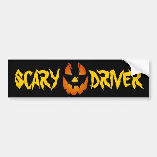 Halloween Jack O Lantern Bumper Sticker