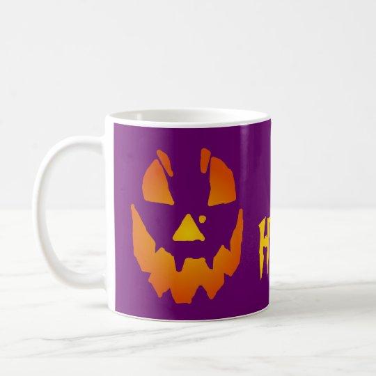 Halloween Jack O Lantern Coffee Mug