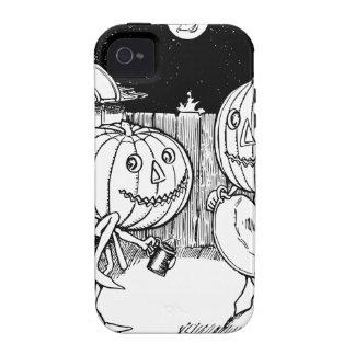 Halloween Jack-O-Lantern dance Vibe iPhone 4 Covers