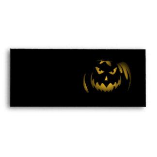 Halloween Jack-o-lantern Envelope