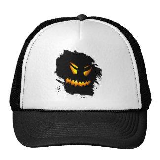 Halloween Jack-O-Lantern Face Hat