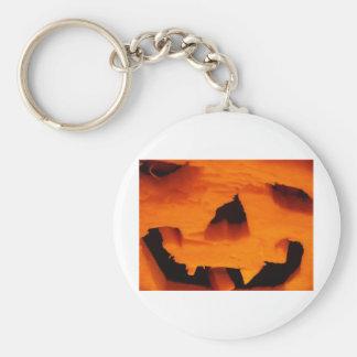 Halloween Jack-O-Lantern Face Keychains