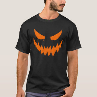 Halloween Jack-O'-lantern Face Men's T-shirt