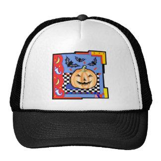 Halloween Jack o lantern Mesh Hat