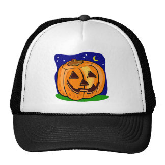 Halloween Jack o lantern Hat