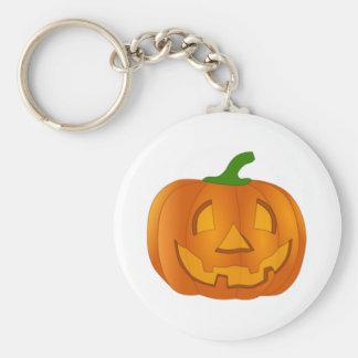 Halloween Jack-O-Lantern Key Chain