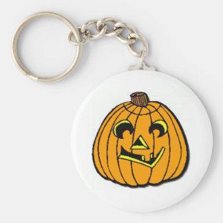 Halloween Jack-O-Lantern Key Chains