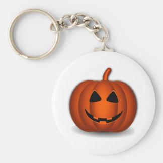 Halloween Jack-O-Lantern Keychain