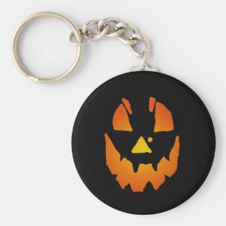 Halloween Jack O Lantern Keychain