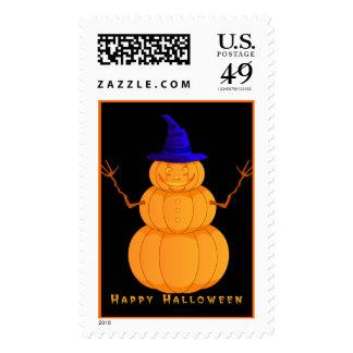 Halloween Jack-O-Lantern Man  US Postage Stamp