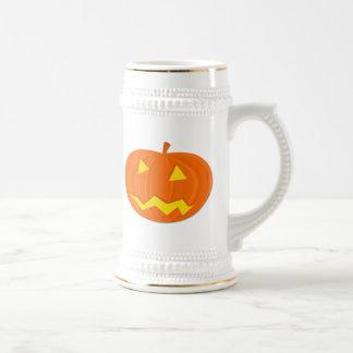 Halloween Jack-o-Lantern Mugs