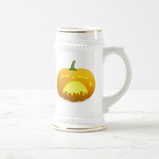 Halloween Jack-O-Lantern Coffee Mugs
