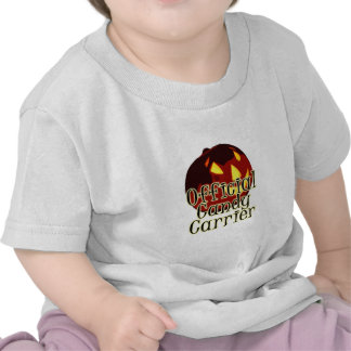 Halloween Jack O Lantern Official Candy Carrier Tees
