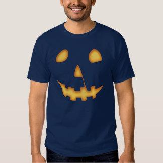 Halloween Jack-O-Lantern (on black) Tshirt