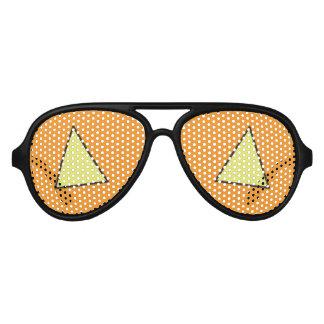 Halloween Jack-O-Lantern Party Supplies Aviator Sunglasses