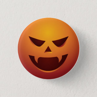 Halloween Jack O Lantern Pumpkin Button