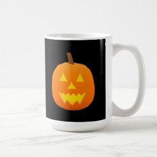 Halloween: Jack-O-Lantern: Pumpkin: Coffee Mug