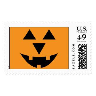 Halloween Jack-o-Lantern Pumpkin Custom Halloween Stamps