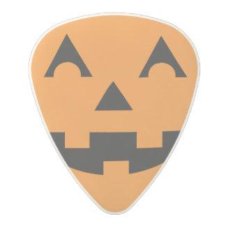 Halloween Jack O Lantern Pumpkin Face Polycarbonate Guitar Pick