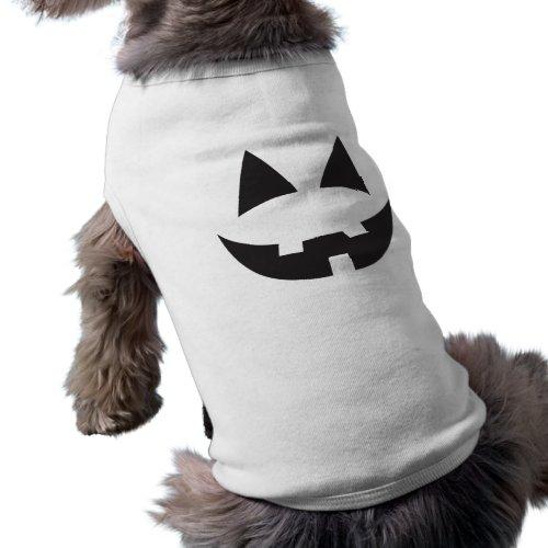 Halloween Jack-O-Lantern Pumpkin Face Sihouette2 T-Shirt