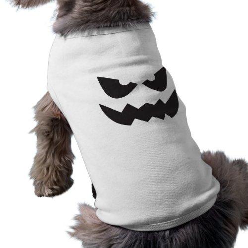 Halloween Jack-O-Lantern Pumpkin Face Sihouette3 T-Shirt