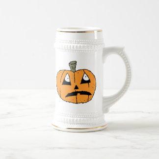 Halloween Jack-o-Lantern Pumpkin Mug