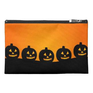 Halloween Jack-O-Lantern Pumpkin Patch Travel Accessories Bag
