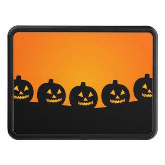 Halloween Jack-O-Lantern Pumpkin Patch Tow Hitch Cover