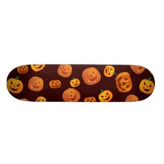 Halloween Jack-O-Lantern Pumpkin Pattern Skateboard