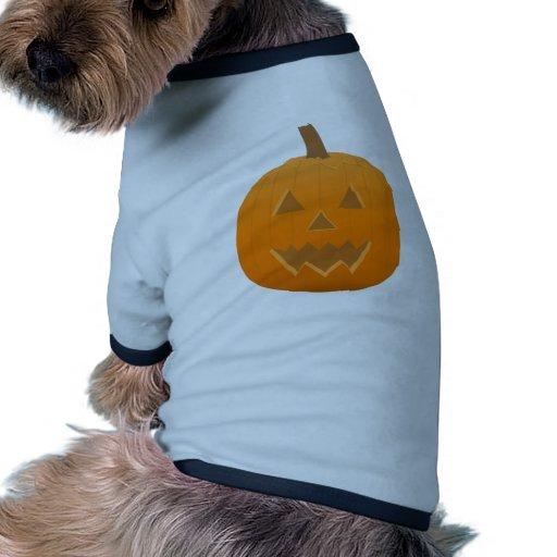 Halloween: Jack-O-Lantern: Pumpkin: Pet T Shirt