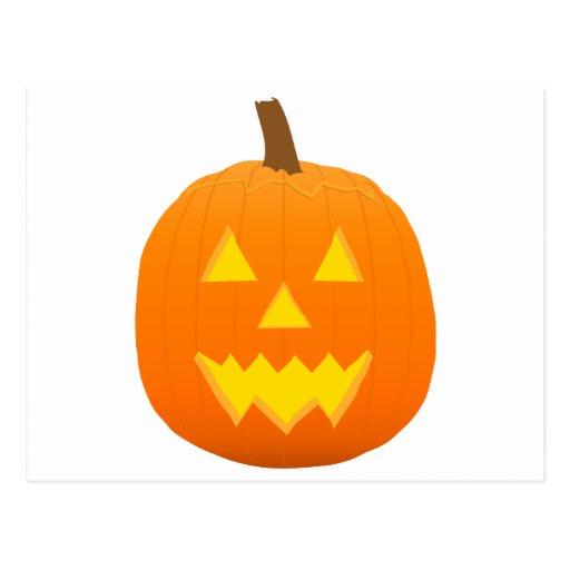 Halloween: Jack-O-Lantern: Pumpkin: Post Cards
