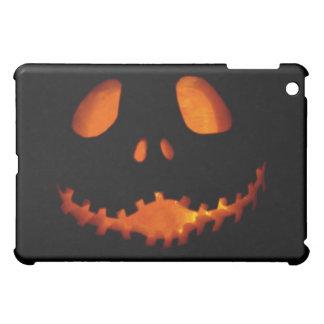Halloween Jack-o-Lantern Skeleton Grin iPad Mini Cover