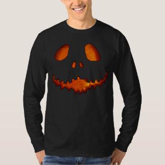 Halloween Jack-o-Lantern Skeleton Grin T-Shirt