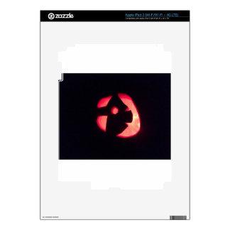 Halloween Jack o Lantern Decal For iPad 3